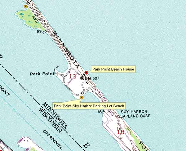 Click Here For Large Map Beach House Pix