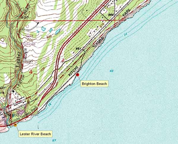 Click Here For Large Map Brighton Pix